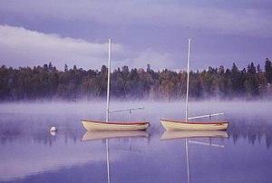 Sjömarken - Image: Boats Lake Viared