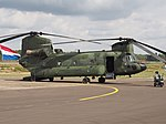 Boeing CH-47D Chinook, D-667, Royal Netherlands Air Force, Belgian Air Force Days 2018 pic1.jpg