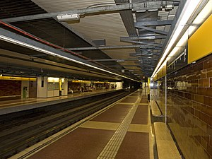 Bogatell station platforms.jpg