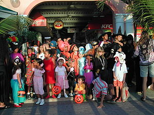 English: Halloween in Bonaire.