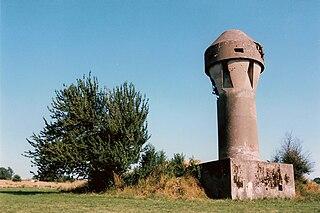 Fort de Boncelles 19th-20th century defence for Liège, Belgium