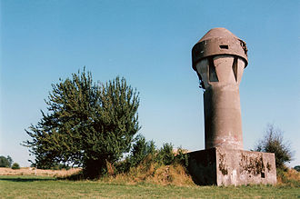 Fortified position of Liège - Fort de Boncelles : air intake tower