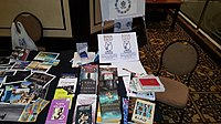 BookSwapping at Wikimania 2018 20180722 151806 (22).jpg