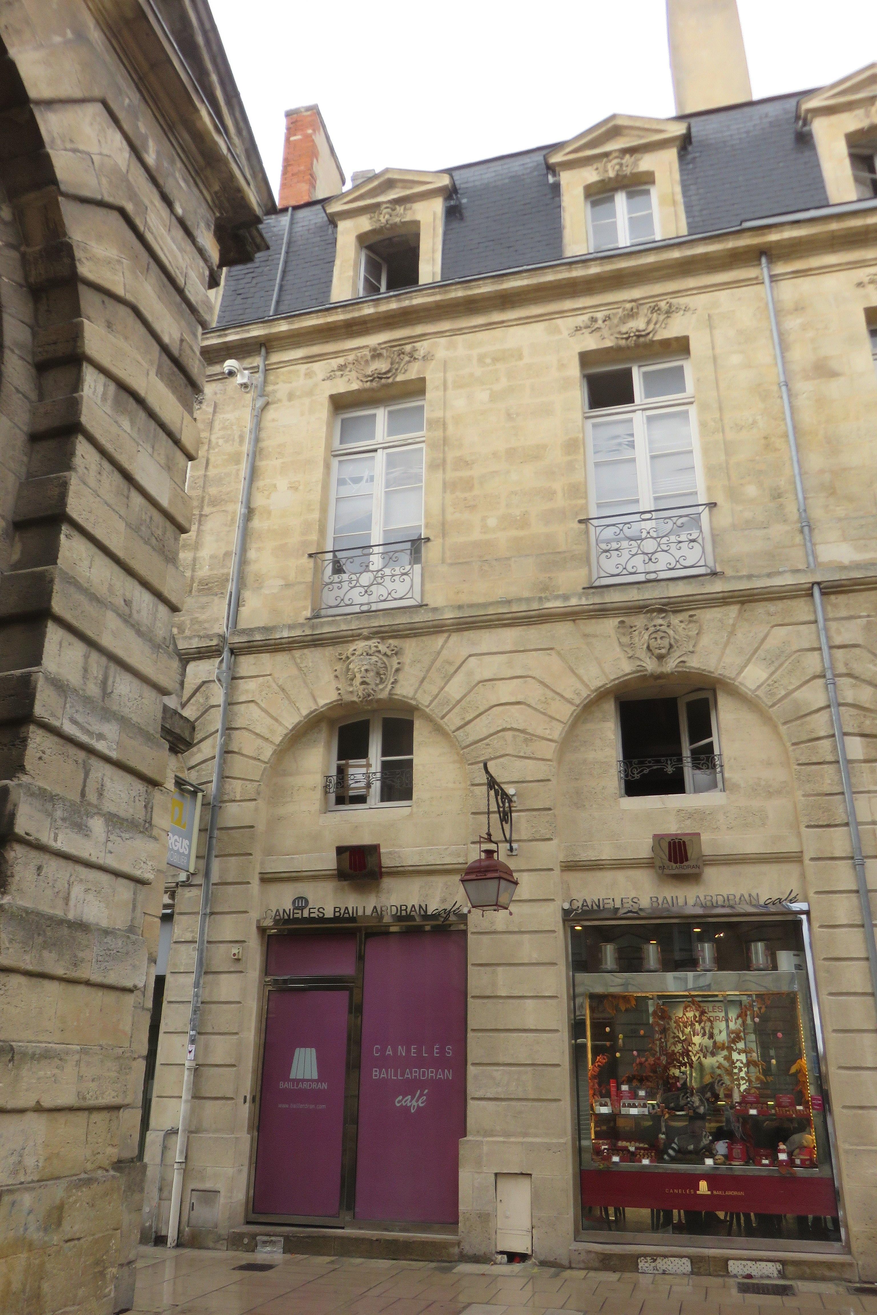 File Bordeaux Mh 111 Rue Porte Dijeaux Jpg Wikimedia Commons