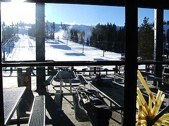 Boreal Mountain Resort - Image: Boreal Ski CA