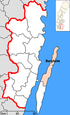 Borgholm Municipality in Kalmar County.png
