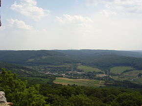 Borinka, Slovakia-sight from the Pajstun castle.jpg