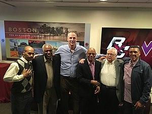 Jay Murphy - Dana Barros, John Bagley, Jay Murphy, Michael Adams, BC Agent Frank Catapano, and Dwan Chandler