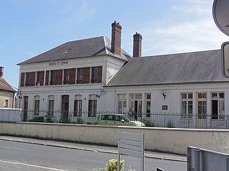 Bourg-et-Comin - Image: Bourg et Comin (Aisne) Mairie