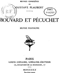 Gustave Flaubert: Bouvard et Pécuchet