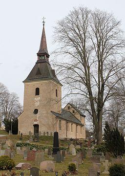 Brännkyrka kirke i april 2012
