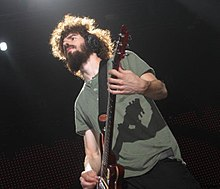 Brad Delson playing at Smirnoff Music Centre.jpg
