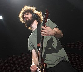 Brad Delson in het Smirnoff Music Centre