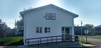 Bradgate, Iowa - Post Office