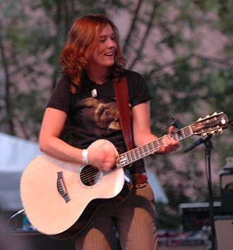 Brandi Carlile - Carlile performing in Birmingham, Alabama in 2006.