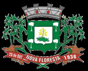Nova Floresta, Paraíba - Image: Brasao Nova Floresta