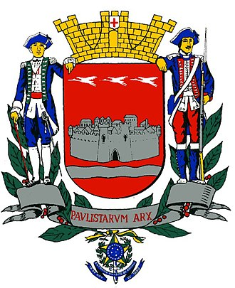 Guaratinguetá - Image: Brasaoguara