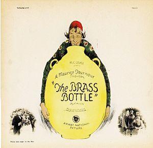 The Brass Bottle (1923 film) - lobby card