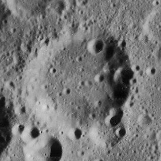 Breislak (crater) Lunar impact crater