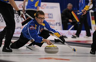 Brendan Bottcher Canadian curler