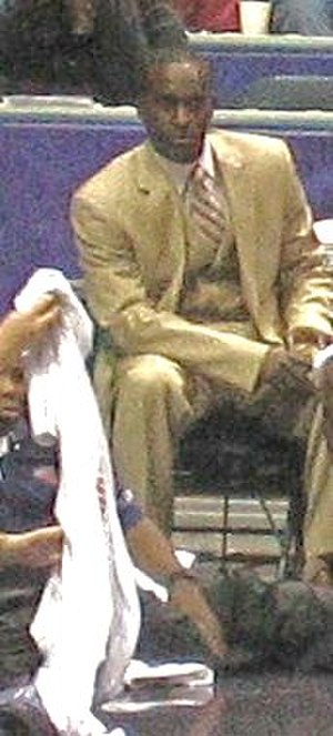 Brevin Knight - Knight on the bench in 2006.
