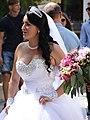 Bride on Her Wedding Day - Berehove - Ukraine (36533652501) (2).jpg