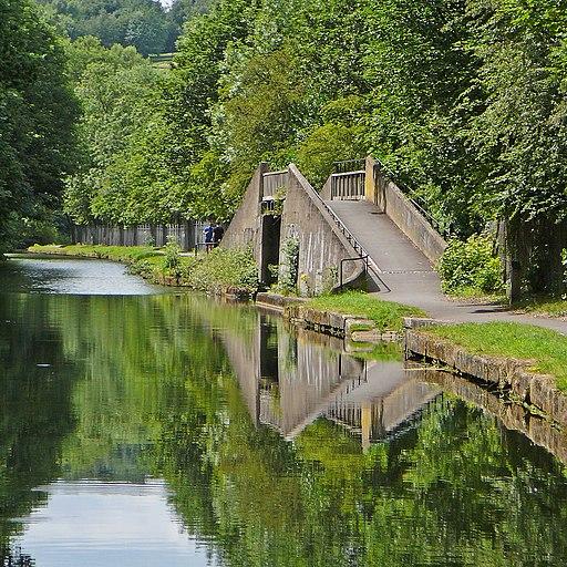 Bridge at the Aire Valley Marina (4757953349)
