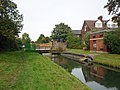 Bridges over the New River, Bowes Park - geograph.org.uk - 2091930.jpg