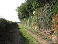 Bridleway to The Street in Bergh Aphton - geograph.org.uk - 1536714.jpg