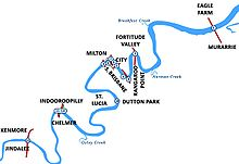 Brisbane River - Wikipedia, the free encyclopedia