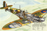 Britain's New Spitfire - UK World War II poster, circa 1941 (44266318).png