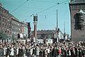British troops passes Rådhuspladsen (town square) in Copenhagen..jpg