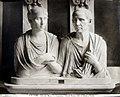 Brogi, Carlo (1850-1925) - n. 8305 - Roma - Vaticano - Museo Pio Clementino - Ritratti romani detti di Catone e Porzia.jpg