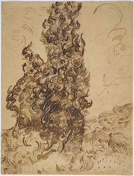 File:Brooklyn Museum - Cypresses (Les Cyprès) - Vincent van Gogh.jpg