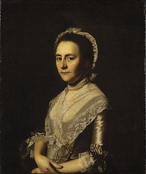 John Bacon (Massachusetts) - Image: Brooklyn Museum Mrs. Alexander Cumming, née Elizabeth Goldthwaite, later Mrs. John Bacon John Singleton Copley overall