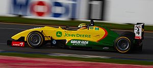 Motorised sports have appeared since the advent of the modern age. Bruno Senna 2006 Australian Grand Prix.jpg