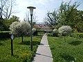 Buda Arboreta. Upper garden. North entry. - Budapest.JPG