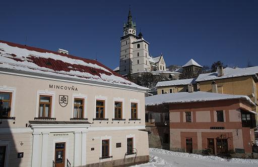 Budova Mincovne Kremnica