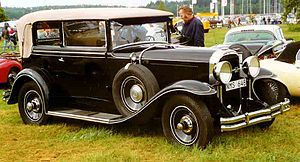 Buick Special - 1930 Series 40 convertible
