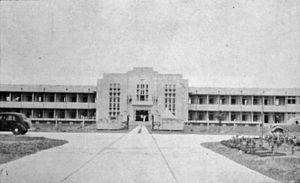 Triam Udom Suksa School - Triam Udom Suksa Building (now Building 2) during its opening ceremony on 24 June 1940