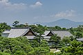 Buildings of Honmaru Palace, Nijō Castle, Kyoto as seen from Fortification 20130811 1.jpg