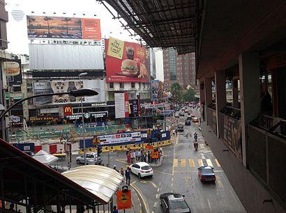 Bagaimana untuk pergi ke Bukit Bintang dengan pengangkutan awam - Tentang tempat tersebut