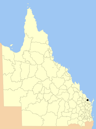 City of Bundaberg - Location within Queensland