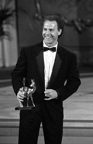 Bambi Award - Franz Beckenbauer, Leipzig, 27 November 1990