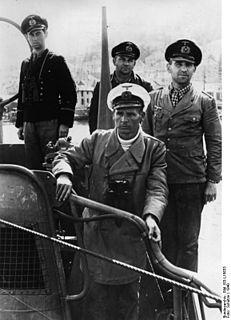 Engelbert Endrass German navy officer and world war II U-boat commander