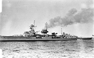 German cruiser Nürnberg - Nürnberg before the war