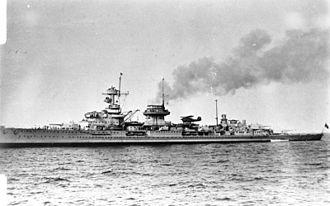 German cruiser Nürnberg - Nürnberg before the war