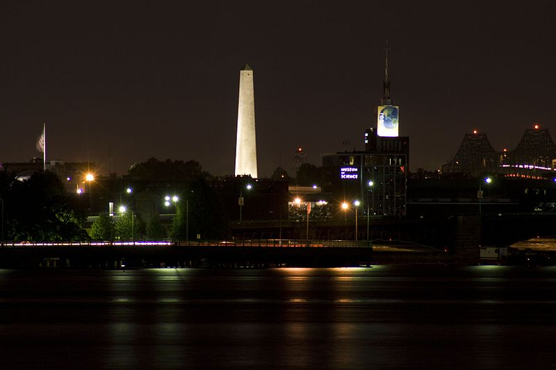 File:Bunker Hill Monument by night dfv.jpg