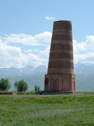 Chuy Region - Image: Burana tower repaired