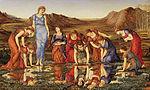 Burne-Jones, Edward - The Mirror of Venus - 1875.jpg